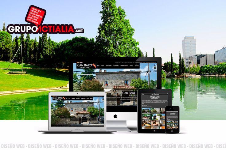 Grupo Actialia somos una empresa que ofrecemos servicio de diseño web en Sabadell. Ofrecemos diseño de páginas web, programación a medida, tienda online, blog social. Para más información www.grupoactialia.com o 93.516.00.47