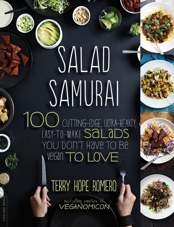 149 best cookbook design images on pinterest cookbook design salad samurai 100 cutting edge ultra hearty easy to cook booksterry forumfinder Images