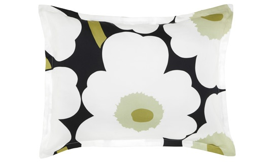 Unikko black King Sham by Marimekko: Marimekko Stores, Home Decor, Latest Collection, Black King, Unikko Black, Finding Shops, King Shams, Marimekko Online
