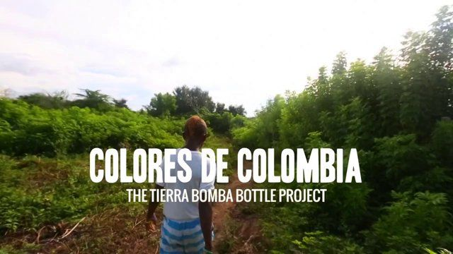 The Tierra Bomba Bottle Project /Colores De Colombia :   Standing alone in, just 10 minutes by boat from Colombia's hottest touristic destination,world class conventions and summits stands Tierrabomba. People of Tierrabomba are descendents of slaves that claimed the island as home. The island has beautiful beaches and great ocean life around it, making it a place with great potential for touristic activities and attractions.  Even though the island has great potential, the lack of ...