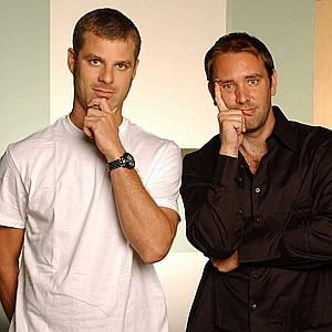 'South Park' creators Matt Stone (left) and Trey Parker <3 <3 <3 Oh how I love them:) <3 <3 <3