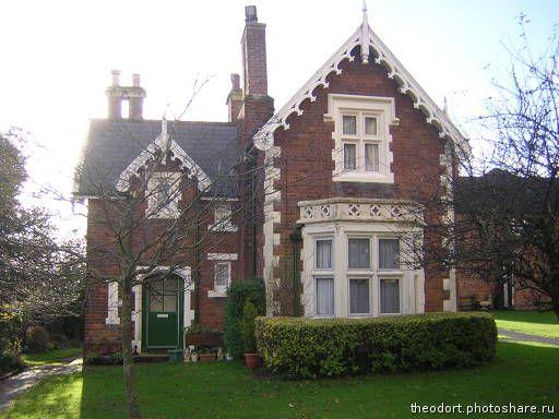 Эксетер. Типичный старый английский дом (Путешествия) Великобритания
