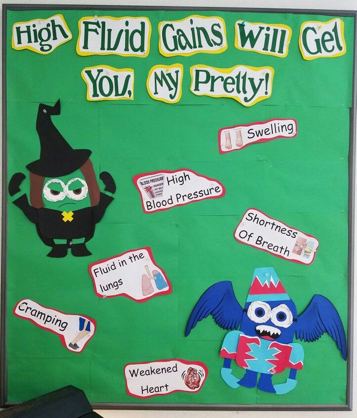 17 best ideas about dialysis humor on pinterest for Pretty bulletin board
