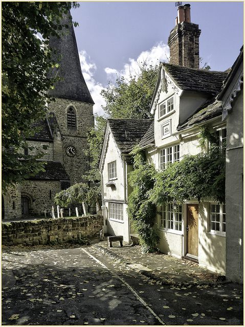 An English village.