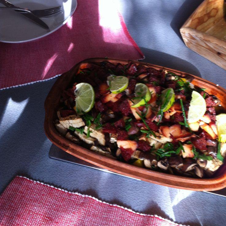 Mexicaanse Romertopf Verrassend pittig, fris, en afwisselend!