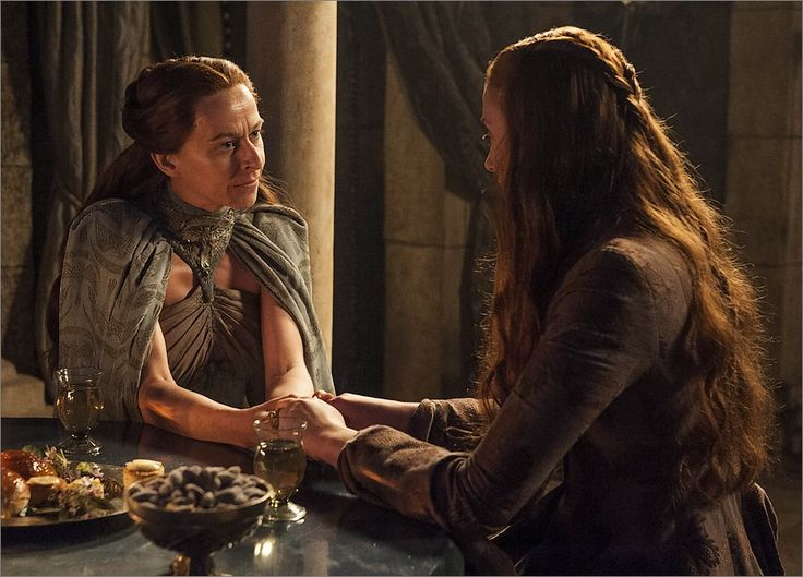 Lysa Arryn jalouse de Sansa Stark - Game Of Thrones
