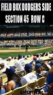 For Sale: 2 OR 4 LA Dodgers Tickets 8/21 San Diego Padres Dodger Stadium FIELD BOX http://sprtz.us/PadresEBay