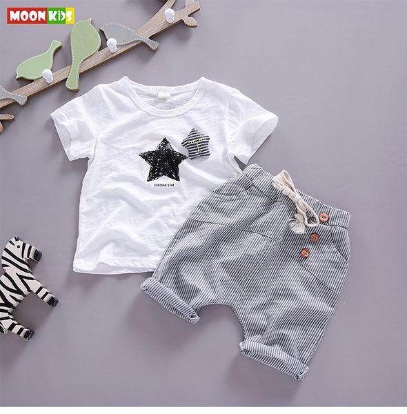 Свободная перевозка груза 2 мужской ребенка с короткими рукавами брюки 1-3 лет девочки лето 2016 новых детской одежды детская одежда костюм отдыха