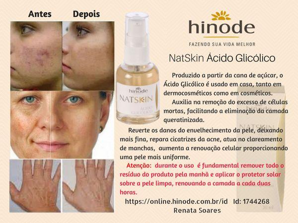 Hinode NatSkin Ácido Glicólico https://online.hinode.com.br/id Id: 1744268