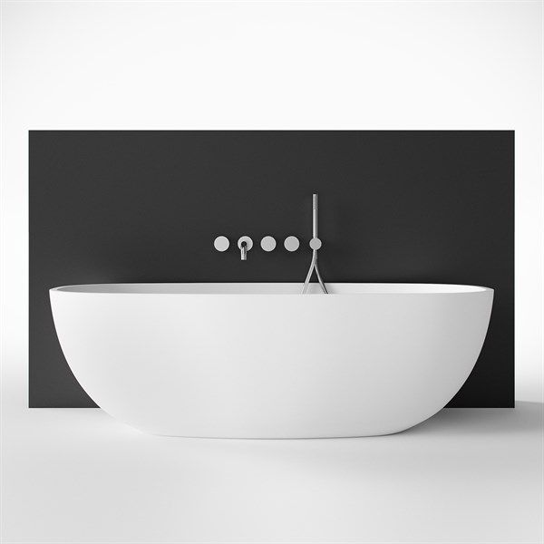 Køb Pulcher New Deep 170 hvid badekar. Fragtfri afsendelse.