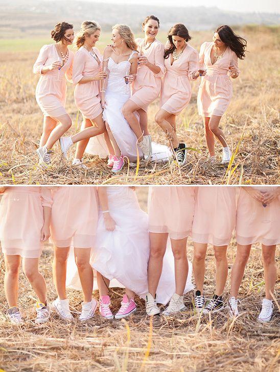 long sleeve pink bridesmaid dresses