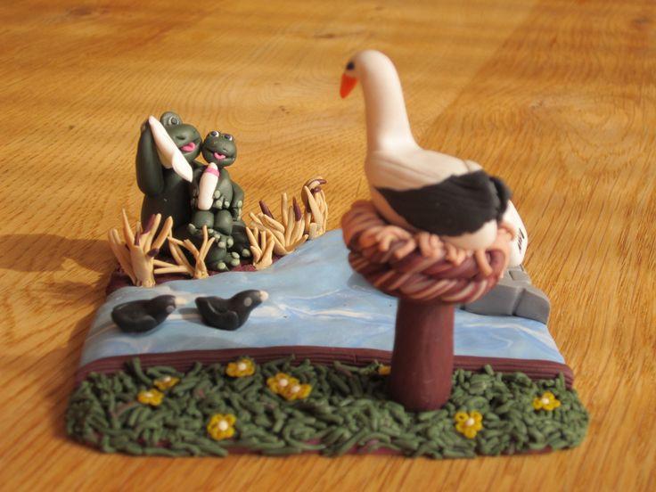 Polymer Dutch Nursery Rhyme: Aan de Oever van de Rotte