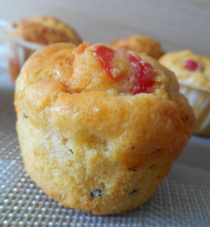 Cakes chorizo, poivron rouge