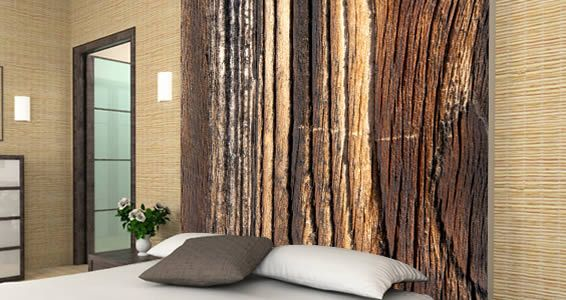 Wood Wall Mural removable wood wall mural from design with a z | home | pinterest
