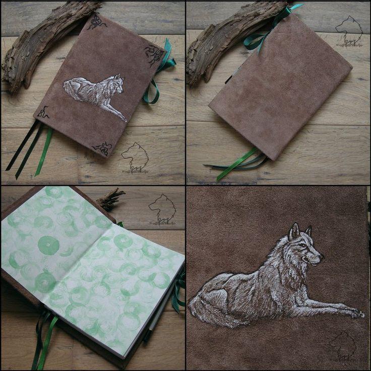 Kiba-book - handmade sketchbook by Dark-Lioncourt.deviantart.com on @DeviantArt