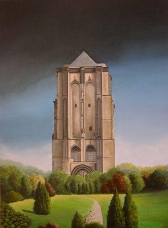 de dikke toren in Zierikzee