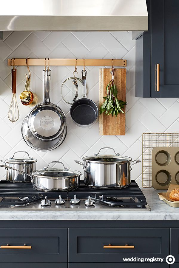 Best 25 Hanging Pots Kitchen Ideas On Pinterest Pot
