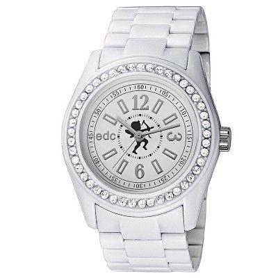 Ceas de dama edc by Esprit EE900172002 Disco Glam White