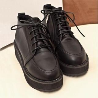 Zandy Shoes - Platform Ankle Boots