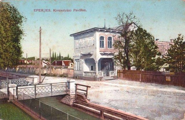 Budova klziska Spolku korčuliarov, Prešov