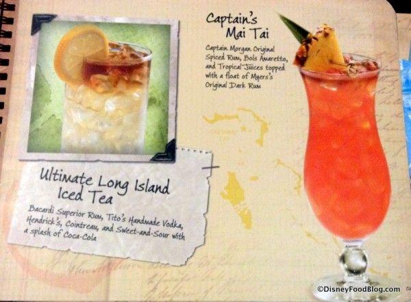 News: Updates to Disney's Standard Bar and Lounge Menu | the disney food blog