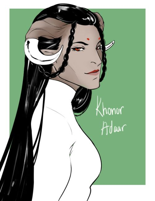 Dragon Age Inquisition Character Design Ideas : Best qunari adaar images on pinterest dragon