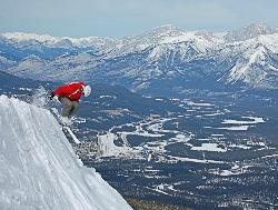 Marmot Basin Ski Area, Jasper, Alberta, Canada