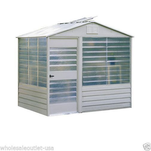 Portable Greenhouse Kit 8x6 Garden Potting Shed Planting