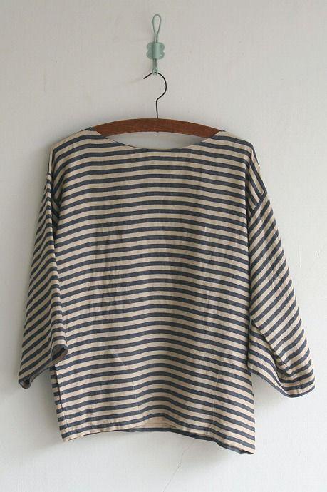 striped shirt http://www.matilde.jp