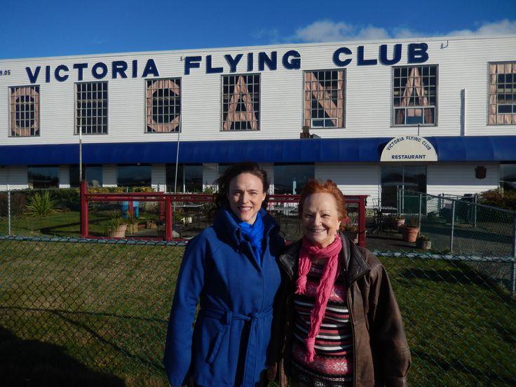 Ramona Reynolds, president of Women in Aviation