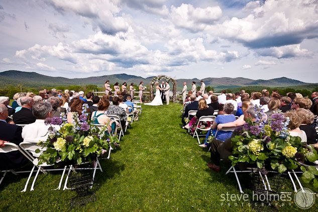 Mountains Ceremony Portrait The Mountain Top Inn Wedding Chittenden Vt Find This Pin And More On New England Venues