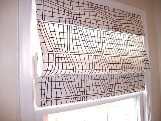 diy roman shades dressing up a cheap pair of shades with designer