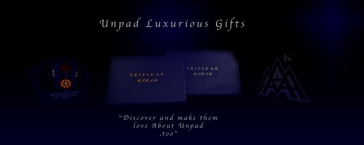Exclusive Gift Packaging for your Unpad Events