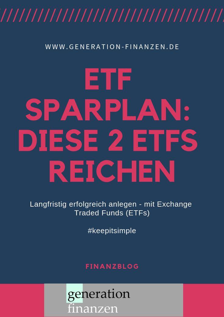 Halte es einfach: Diese beiden #ETFs reichen für …