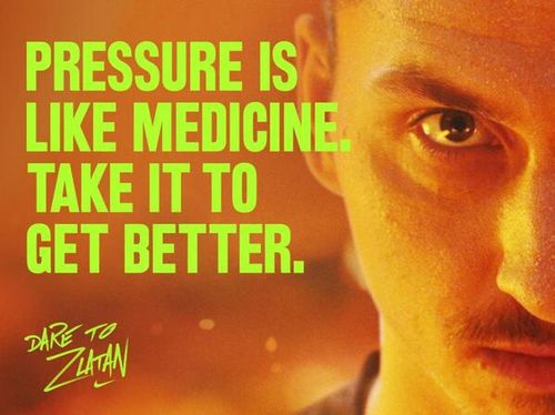 Zlatan Ibrahimovic #Soccer #Inspiration #Motivation #Quote