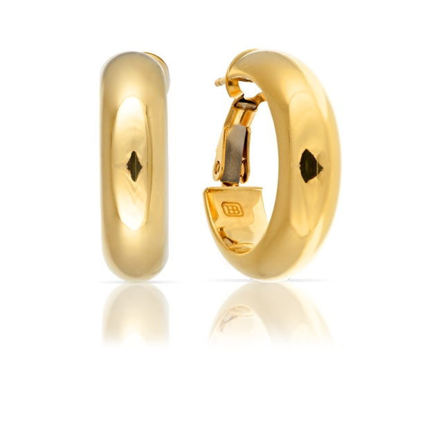 18ct Yellow Gold earrings
