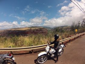 Motorcycle adventure, Kauai, Hawaii (women who ride)