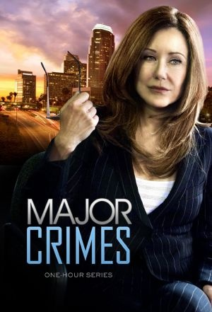 Major Crimes, excellent show. Sharon is so in control and very loving to Rusty.