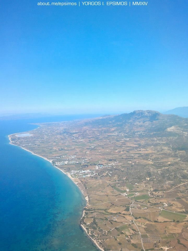 #Kos #Island, #Dodecanese  Air view from above  www.twitter.com/kosisland