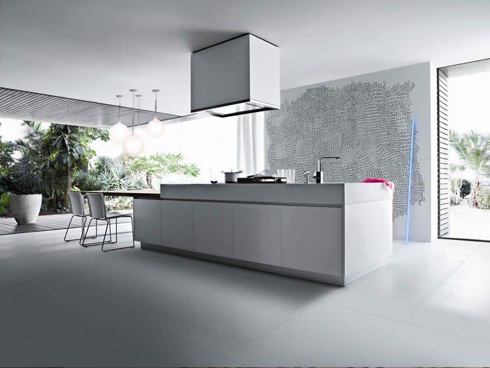 Rudy s blog over italiaanse design keukens e d keukentafel voor woonkeuken keuken - Moderne keukentafel ...