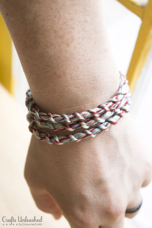 Loopdedoo-embroidery-floss-bracelets-Crafts-Unleashed-9