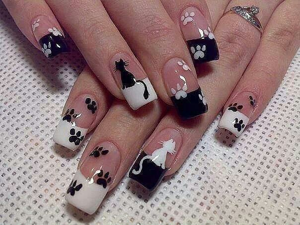 Nails ~ uñas ~ cats ~ gatos