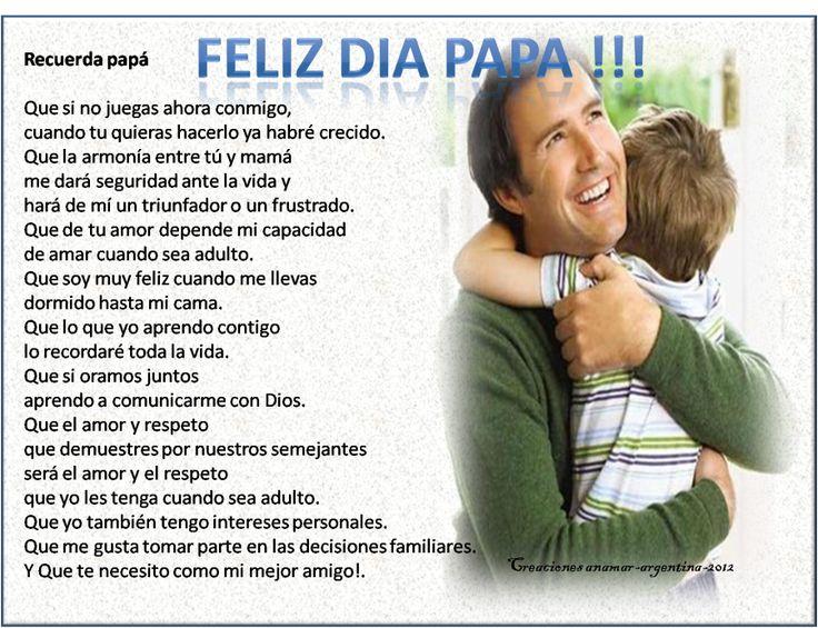Día del Padre en Argentina – Historia y Tradiciones en los distintos Países http://www.yoespiritual.com/efemerides/17-de-junio-de-2012-dia-del-padre-historia-y-tradiciones-en-los-distintos-paises.html