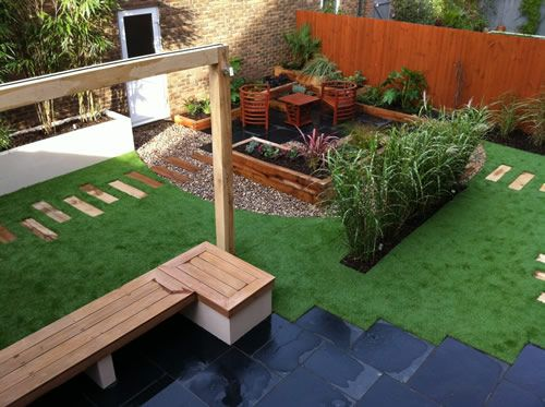 17 best images about ideas for outdoors on pinterest for Easy maintain garden design