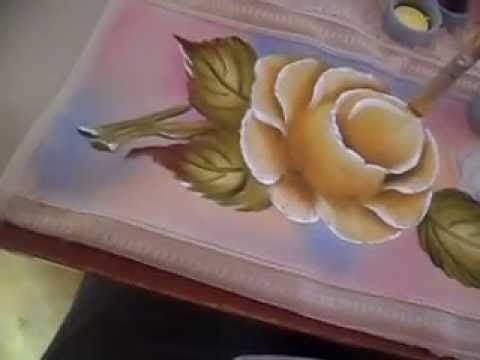 Como pintar rosas, My Crafts and DIY Projects
