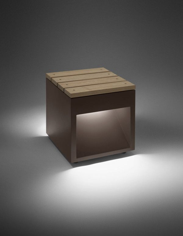 David Abad's Lap Bench for B.LUX - Design Milk