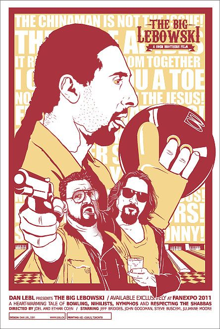 the big lebowski ... my kind of film http://www.amazon.com/Got-Any-Kahlua-Collected-Recipes/dp/1478252650