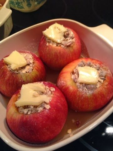 Apple streusel, Baked apples and Apples on Pinterest