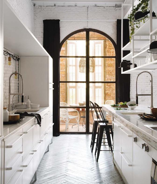 85 besten white interior Bilder auf Pinterest | Island, Bankett und ...