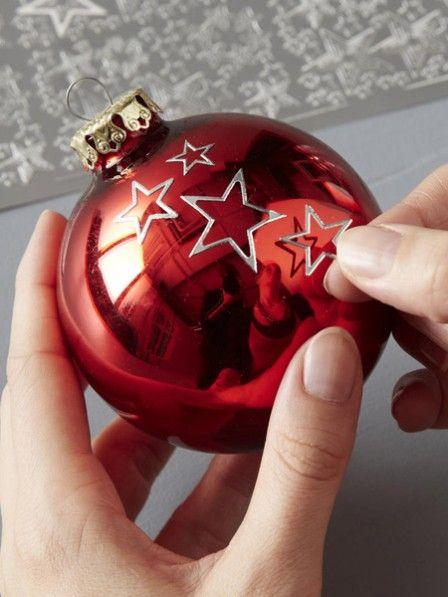 die besten 25 weihnachtskugeln basteln ideen auf pinterest weihnachtskugeln einfache. Black Bedroom Furniture Sets. Home Design Ideas